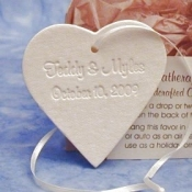Heart Ornament Favors
