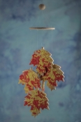 Autumn Leaf Wind Chime Favors