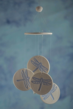 Dragonfly Wind Chime Favors