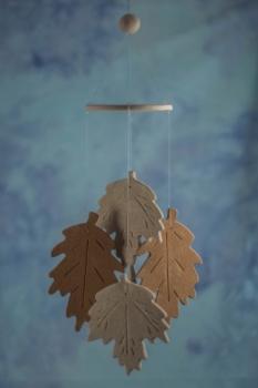 Fall Leaf Wind Chime Favors
