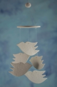 Dove Wind Chime Favors