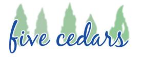 Five Cedars